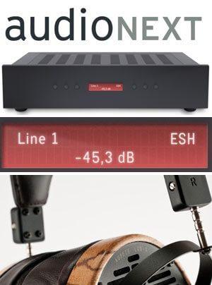 Audez'e Kopfhörer LCD-3, Malvalve head amp three Kopfhörerverstärker
