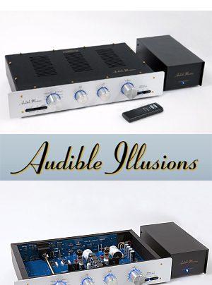 Audible Illusions Modulus 3B und L3 Röhrenvorverstärker