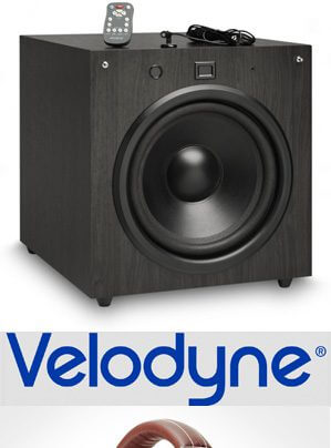 Velodyne-Subwoofer-Aktion: gratis Velodyne-Kopfhörer
