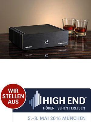 Audiodata MusikServer MS II neuer Musikserver und -player