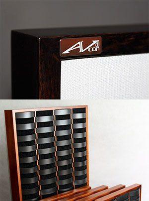 AVcon Raumakustikmodule mit Akustikwolle und optionalen Diffusorelementen