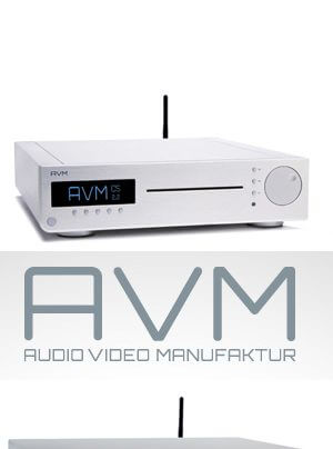 AVM Inspiration CS 2.2, Evolution CS 5.2 CD-Receiver-Streamer