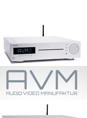 AVM Inspiration CS 2.2, Evolution CS 5.2 CD-Receiver-Streamer