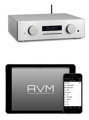 AVM Evolution CS 5.2 Streaming-CD-Receiver