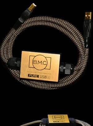 B.M.C. Audio PureUSB1 aktives USB-Kabel