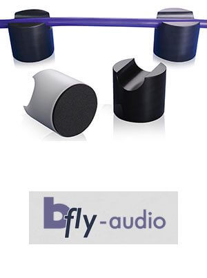 bFly-audio Tower Kabel Absorber aus POM