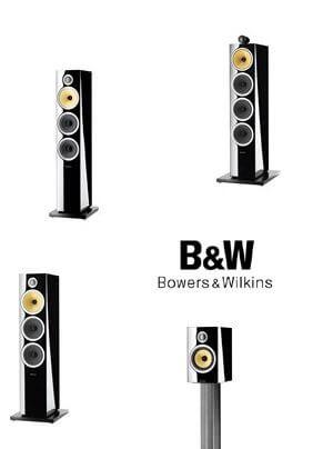 B & W präsentiert neue CM-Lautsprecherserie