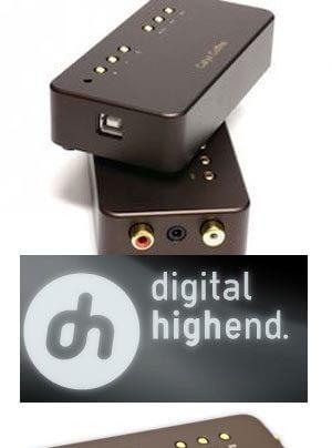 Calyx Coffee USB-DAC mit Kopfhörerverstärker im Vertrieb von Higoto