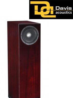 B&T Vertrieb mit Lautsprechern von Davis Acoustics aus Frankreich