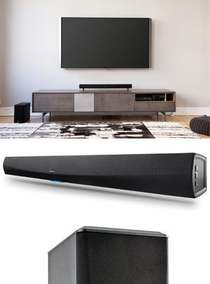 Denon HEOS HomeCinema Soundbar/Subwoofer
