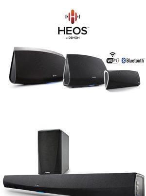Denon HEOS Multiroom-Musiksystem mit Bluetooth-Adapter