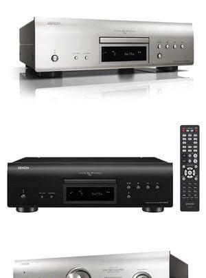 Denon DCD-2500NE CD/SACD-Spieler, PMA-1600NE Vollverstärker mit DAC
