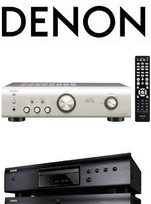 Denon PMA-520AE Vollverstärker, DCD-520AE CD-Spieler