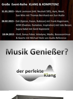 Der perfekte Klang Eventreihe Klang & Kompetenz