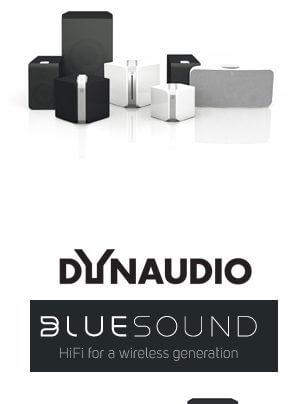 Bluesound HD-Streaming Produktfamilie