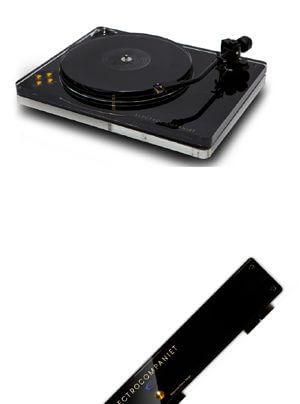 Electrocompaniet ECG-1 Plattenspieler und ECP-2 Phonovorstufe