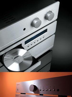 Exposure 1010 Serie CD-Spieler und Verstärker