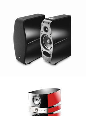 Focal XS Book Wireless Multimedialautsprecher, Scala Utopia V2 Standlautsprecher, Sub Air Subwoofer