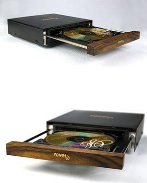 Fonel Audio neues Laufwerk im CD Player Simplicite