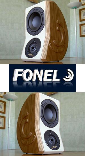 fonel audio kompaktlautsprecher la viva mit neuem design. Black Bedroom Furniture Sets. Home Design Ideas