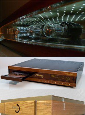 Fonel Symphony Phono Vorverstaerker, Fonel Emotion Vollverstärker, Fonel Simplicité CD-Spieler