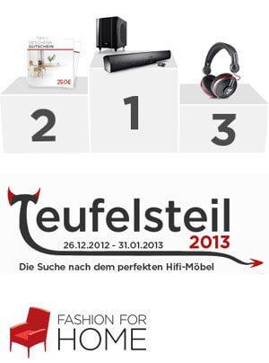 """Designwettbewerb """"Teufelsteil"""" von Fashion for Home"""