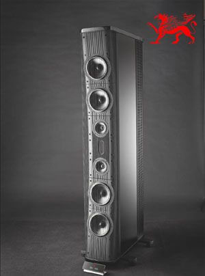Gryphon Audio Trident II 3-Wege-Halbaktiv-Standlautsprecher