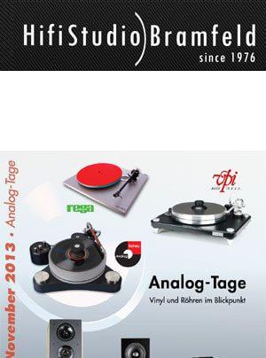 HiFi-Studio Bramfeld Analog-Tage Hausmesse