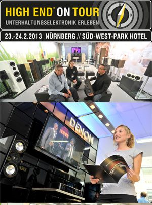 High End on Tour 2013 in Nürnberg