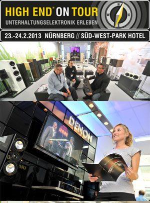 High End on Tour 2013 in Nürnberg