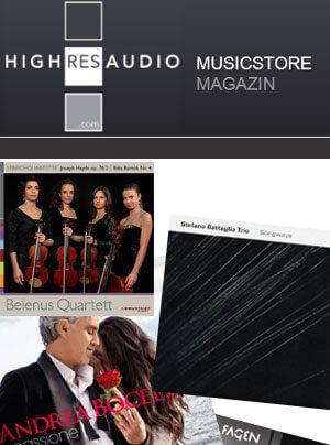 Highresaudio: Neue hochauflösende Downloads
