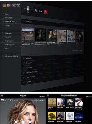 Highresaudio - Virtual Vault - Streamingdienst