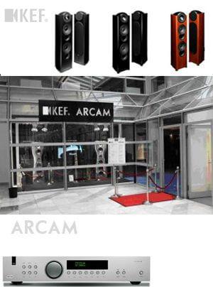 Arcam und KEF (50 Jahre KEF) auf der High End München