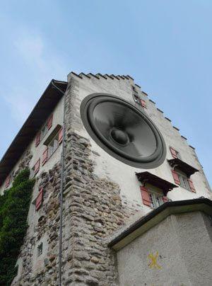 Klangschloss Greifensee HiFi in mittelalterlichen Mauern
