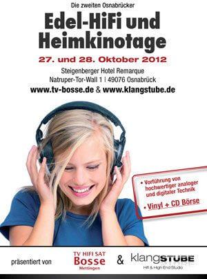 Zweite Osnabrücker Edel-HiFi- und Heimkinotage