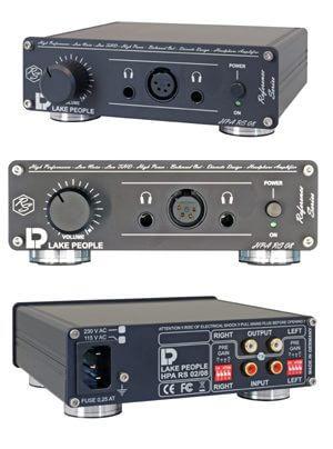 Lake People HPA RS 02 und HPA RS 08 Kopfhörerverstärker