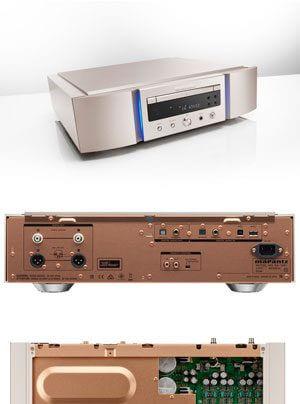 Marantz SA-10 und PM-10 | SACD-/CD-Player und Verstärker