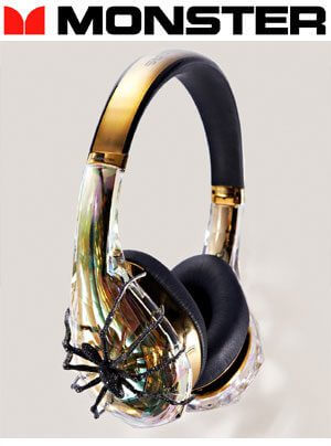 Monster Diamond Tears Sally John Edition und Tuxedo Monster DNA Kopfhörer