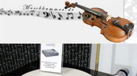 Aracraft Tedius Monitor und Sota Laufwerk bei der Musikkammer-Hausmesse in Willich