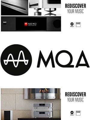 NAD Elektronik nach Firmware Update kompatibel mit MQA Codec