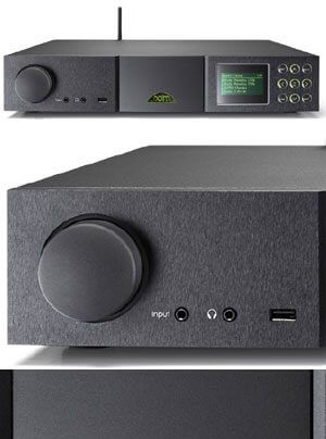Naim SuperUniti All-in-one Audioplayer mit Streamer, Vollverstärker, DAC, Tuner