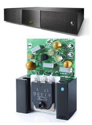Naim externe Netzteile mit neuen, verbesserten Spannungsreglern HiCAP (DR) | Supercap (DR) | XPS (DR) | 555 PS (DR) | 552 PS (DR)