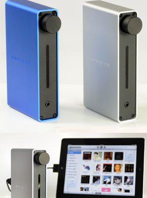 Nuforce iDo Digital Clock, D/A-Wandler und Kopfhörerverstärker