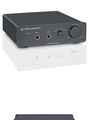 Oehlbach XXL DAC-Ultra DAC und Kopfhörerverstärker