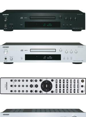 Onkyo Receiver TX-8050 und TX-8030 CD-Spieler C-7030 04-11