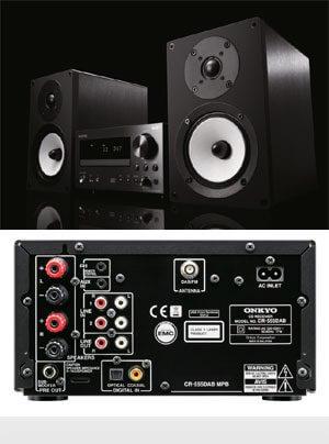 Onkyo CS-555 und CS-555DAB Komplettsysteme