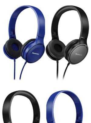 Panasonic RP-HF100M und RP-HF500M Over-Ear-Kopfhörer