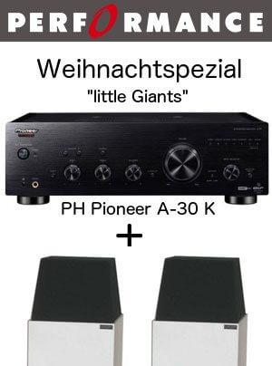 Performance HiFi Angebot Pioneer A-30 K Larsen-4-Lautsprecher MPS C280-SP Kabel