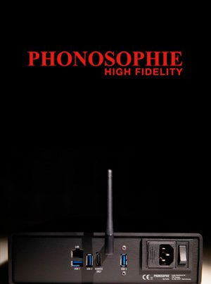 Phonosophie PAS 1 Streaming-Bridge & Audio-Server