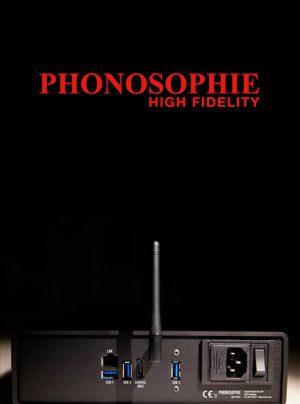Phonosophie PAS 1 Streaming-Bridge & Audio-Server